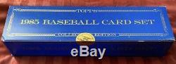 1985 Topps Tiffany & Topps Tiffany Traded Baseball Card Sets Sealed! VERY RARE