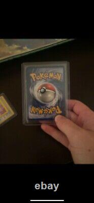 1995 Pokemon Base Set Charizard 4/102 Holo VERY RARE slightly damaged PSA 6/7