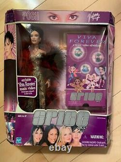 1999 SPICE GIRLS Viva Forever Dolls Set of 4 VERY RARE! Hasbro New in Boxes VHS