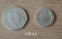2009 Kew Gardens 50p & Undated 20p Error Mule Coins Both Genuine a Very Rare Set