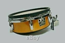 3 -Yamaha RHP100 Wooden 2-10 & 1-12 Drum Pad set + Cable -Very Rare to Find