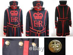 A Very Rare Tower of London Yeoman Warden Guards Complete Uniform Set