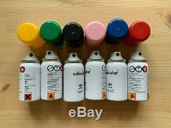 Adidas Adicolor x Montana mini spray cans / spray paint set VERY RARE