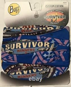 All 4 Original Yara, Dakal, Sele and Koru Survivor Buffs. NWT VERY RARE SET