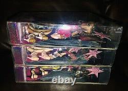 BRATZ Girls Nite Out SASHA DANA & CLOE VERY RARE SET Sealed NEW MGA 2004 WOW