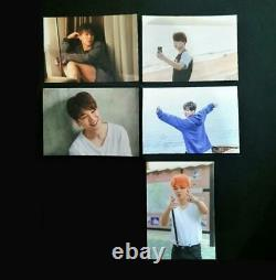 BTS OFFICIAL PHOTOCARD Butterfly Dream EXHIBITION LIMITED VERY RARE 5 SET