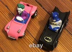 Batman 1974 Road Racing Set Very Rare Vintage Hong Kong Joker Batmobile Original