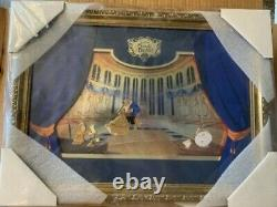 Beauty and The Beast BATB 25th Ballroom Framed Pin Set LE 300 Very Rare COA