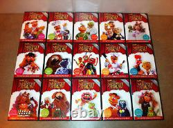 Best of the Muppet Show 25TH Anniversary VERY RARE 15 DVD Complete Set NICE