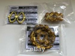 Beyblade Burst Booster Ace Dragon Gold Turbo Ver. Full Set Very Rare Takara Tomy