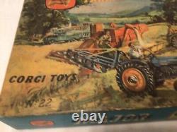 Corgi gift set 22 RARE Vintage Boxed Farming Models Very good for age