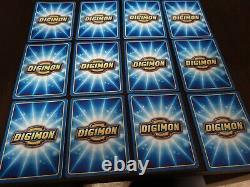 Digimon The Movie Promo- full 12 x card set nr/mint condition very rare