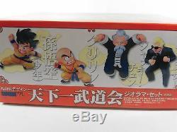 Dragon Ball Z Diorama Tenkaichi Budokai Collection Box Figure Set Very Rare NEW