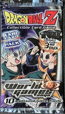 Dragonball Z CCG 2001 Cell saga Score Card Very RARE 50 Packs Per Set. Score