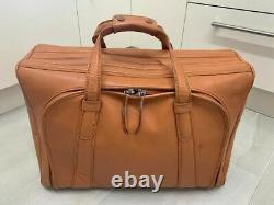 Ferrari Luggage 550 Maranello Schedoni Suitcase Complete Set Oem Very Rare Tan