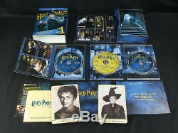 Harry Potter Ultimate Edition Full Complete Blu-ray Set OOP Very Rare EX Overall