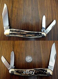 Hen & Rooster, Very Rare 10 Pocket Knife Set 1865-1976-111 Years. Mint In Case