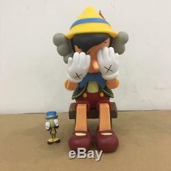 Kaws Disney Pinocchio Jiminy Cricket Figure Set With BOX Very Rare