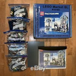 LEGO 10190 MARKET STREET MODULAR SERIES Townhouse VERY RARE