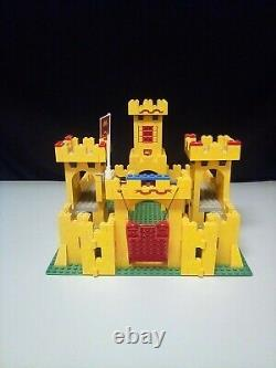 LEGO 375 /6075 Yellow Castle 100% Complete Boxed Legoland Vintage 1978 Very Rare
