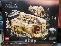 LEGO 75290, Star Wars, Mos Eisley Cantina, MIB, In Hand, VERY RARE, 3187 pcs