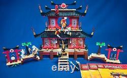 LEGO Ninjago Fire Temple 2507 (Excellent condition, very rare rarity set)