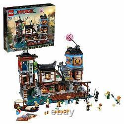 LEGO Ninjago Movie NINJAGO City Docks (70657) new original packed very rare