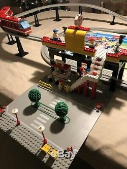LEGO Very Rare Vintage 6399 Legoland Airport Shuttle Monorail Train Complete