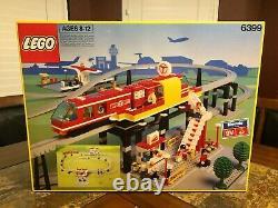 Lego 6399 Airport Shuttle Monorail Train Very Rare