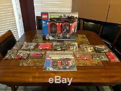 Lego 9v Train Engine Shed 10027 World City Very Rare
