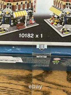 Lego Cafe Corner 10182 Modular Series Factory Sealed, Very Rare, Free Shipping