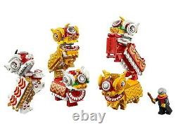 Lego Chinese New Year 80104 Lion Dance Collectible Set NEW Sealed and Very RARE