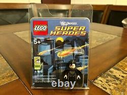 Lego DC Black Suit Super Man Mini Figure 2013 Sdcc San Diego Comic Con Very Rare