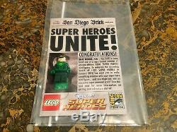 Lego DC Green Lantern Mini Figure 2011 Nycc New York Comic Con Sdcc Very Rare