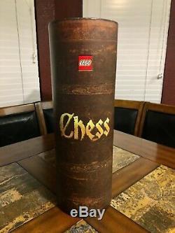 Lego Fantasy Era Castle Giant Chess Set 852293 Very Rare