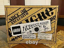 Lego Indiana Jones Brickmaster Pack 2008 Sdcc Exclusive 1 Of 500 Very Rare