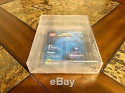 Lego Marvel Captain America Steve Rogers Minifigure 2016 Sdcc Afa 9.25 Very Rare