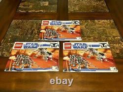 Lego Star Wars 10195 Republic Drop Ship At-ot Walker Very Rare