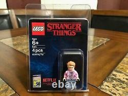 Lego Stranger Things Barb Mini Figure 2019 Sdcc Afa Case Very Rare
