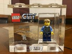 Lego Tt Games Trophy Brick Lego City Chase Sdcc Very Rare