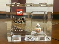 Lego Tt Games Trophy Brick Star Wars Bb8 Sdcc Rarer Than Mr Gold Very Rare