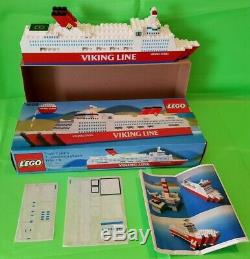 Lego Viking Line Saga Ferry Very Rare Promotional Boxed Set #1658 Complete 1982