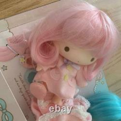 Little Twin Stars Soft Vinyl Doll Set kikilala Very rare Sanrio Japan New FS