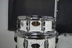 Ludwig Drum set White Marine Pearl COLLECTORS 100th ANNIVERSARY Very rare