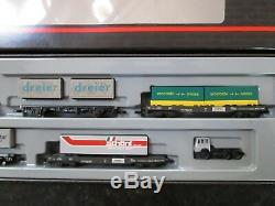 Marklin spur z scale/gauge Alpentransit Train Set. (Very Rare)
