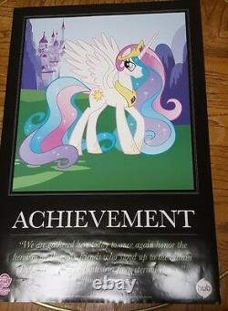 My Little Pony San Diego Comic Con 2011 Motivational Posters Set of 8 VERY RARE