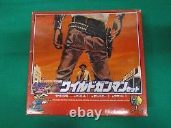 NES WILD GUNMAN + Light Gun zapper set very rare. Famicom Japan Game. 65685