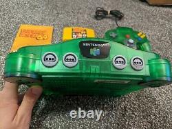 NINTENDO 64 Donkey Kong N64 Console Set CIB VERY RARE