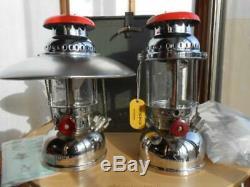 OPTIMUS 1200 Military Lantern Radius Army 2 Set From Sweden With Box Very Rare