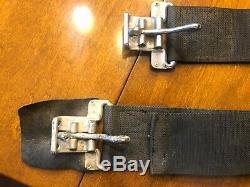 ORIGINAL AC Shelby 289 427 Cobra CS IMPACT Seat Belts, Partial Set, VERY RARE
